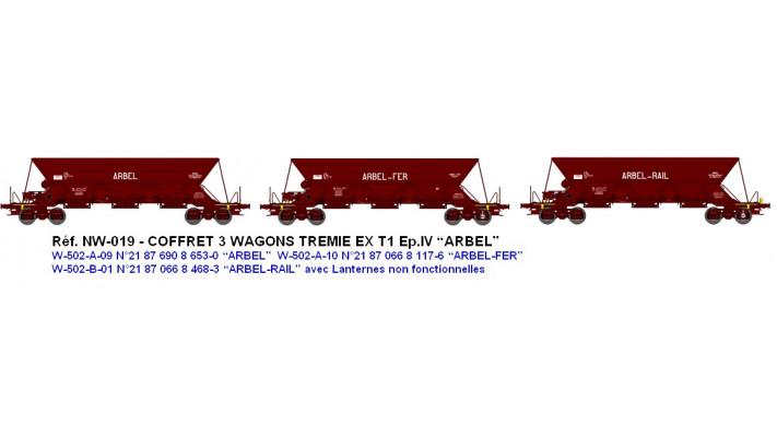 """N  W502A09  TREMIE EX T1 Ep.IV  N°21 87 690 8 6530 """"ARBEL"""" / N  W502A1"""