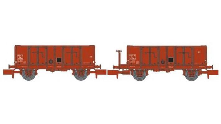 N  TOMBEREAU OCEM 29 Ep.III SET de 2 Wagons Ep.III