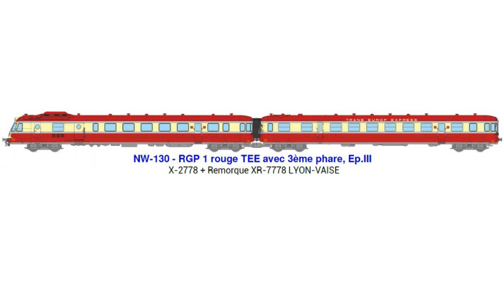 SNCF -rgp rouge Dépôt de LYON-VAISEep III