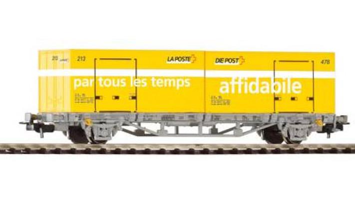 Wagon porte container