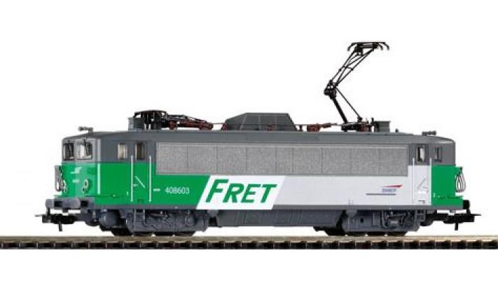 BB 408603 livrée FRET du dépôt de Toulouse