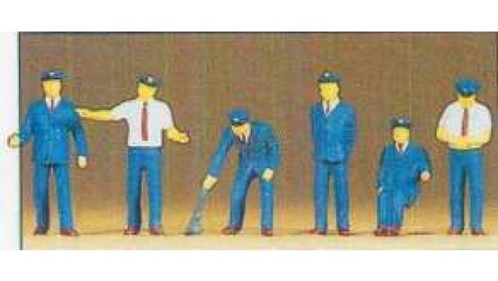 personnel de gare japonnais HO