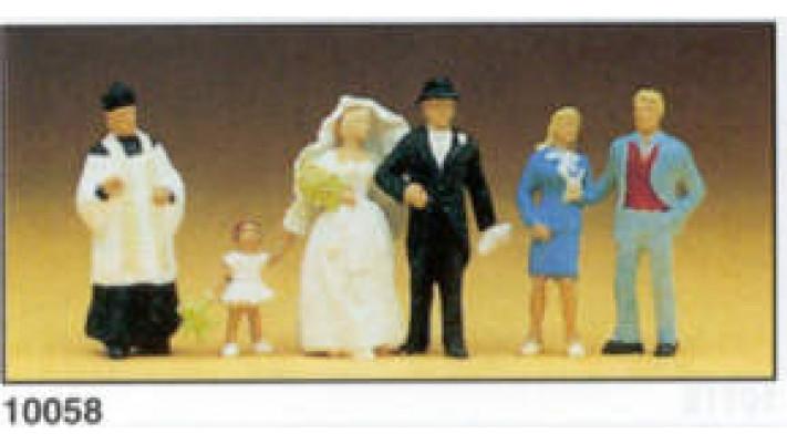fiancés curé invités