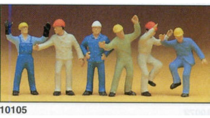 ouvriers de l'industrie