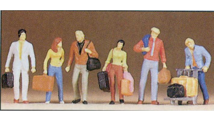 voyageurs en marche