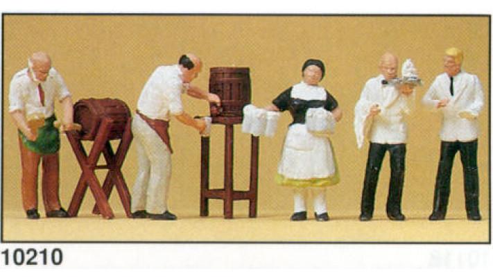 cafetier et serveur