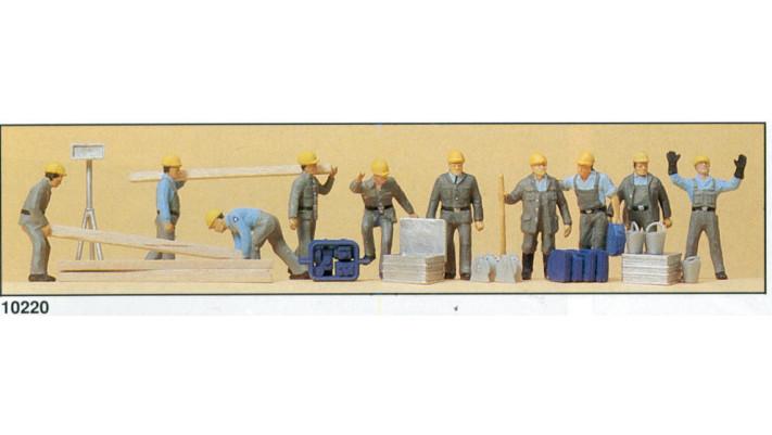 travailleurs du thw en combinaison