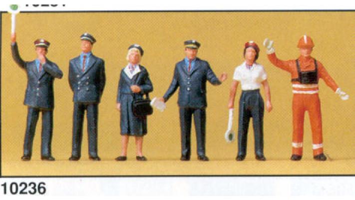 personnel de gare 1989