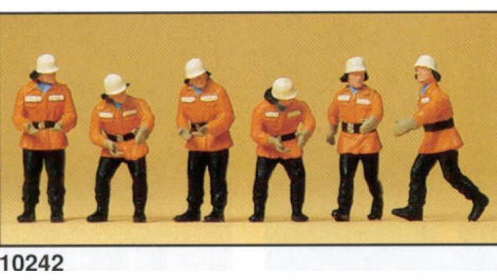 pompiers en service