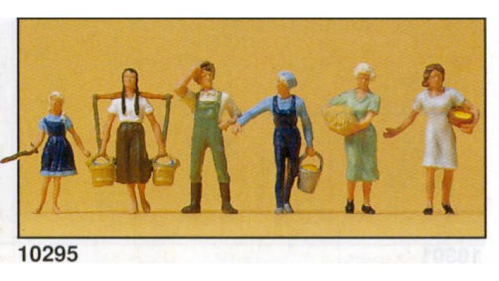 laboureurs et jeunes filles