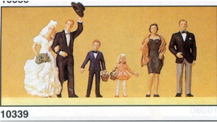 mariés et invités