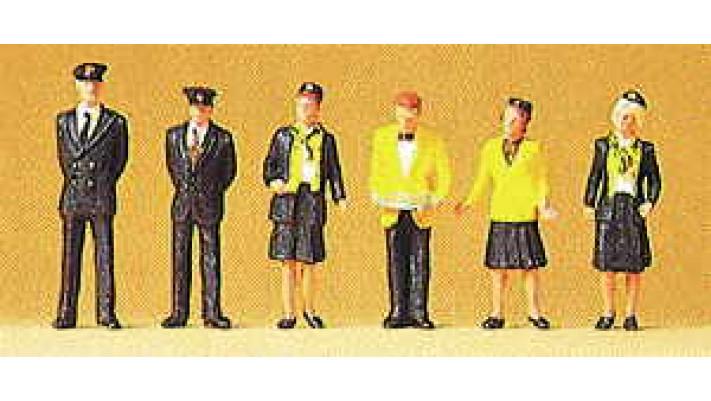 personnel de gare