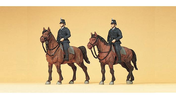 policiers allemands a cheval 1960