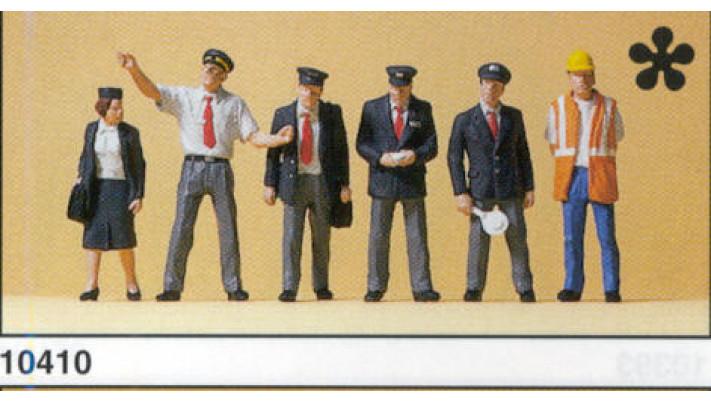personnel chemins de fer grde-bretagne
