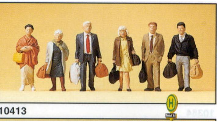 voyageurs marchants