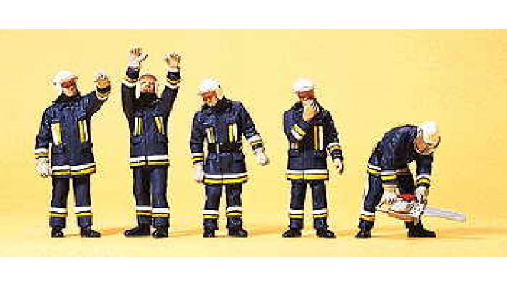 pompiers et support technique
