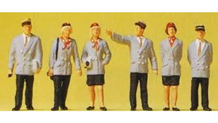 personnel de gare belge