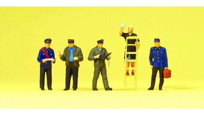 personnel du chemin de fer