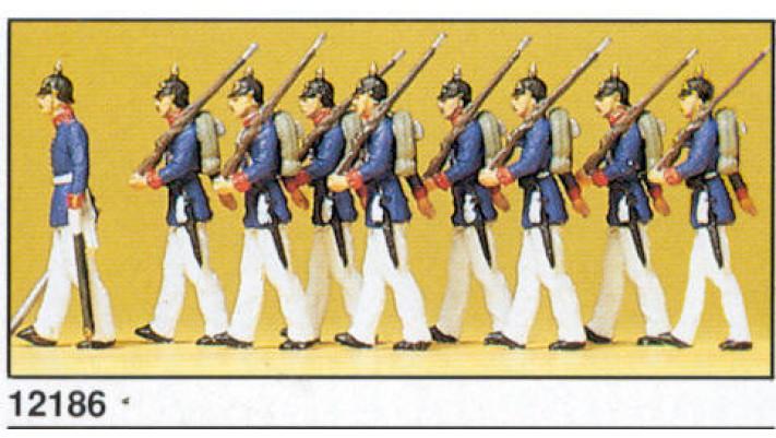 infanterie prussienne 1910
