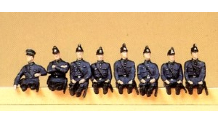 police prussienne assise 1930  ##
