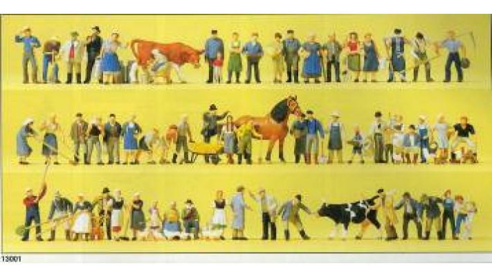 set de ferme(perso+animaux+acces)