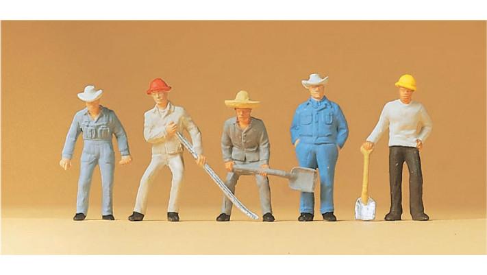 ouvriers de la voie