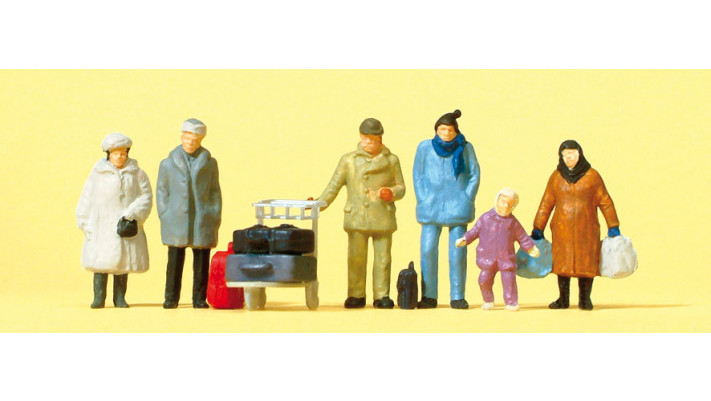 voyageurs, vêtements d'hiver