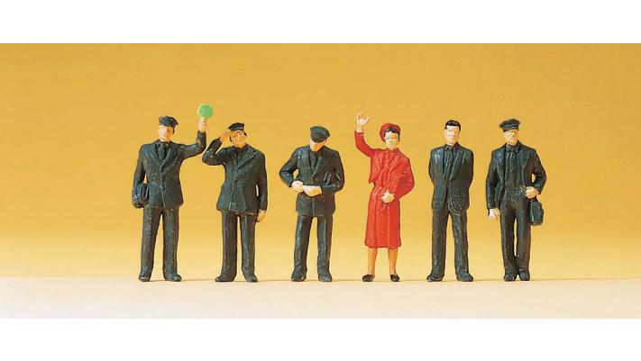 personnel de train 1989