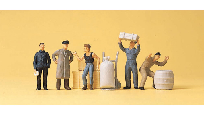 personnel d'entrepôt