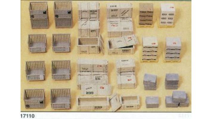 palettes caisses