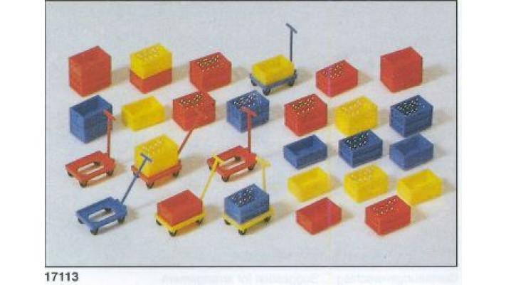 boîtes en plastique en kit
