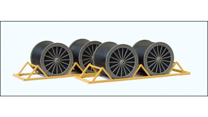 support de bobines de cables