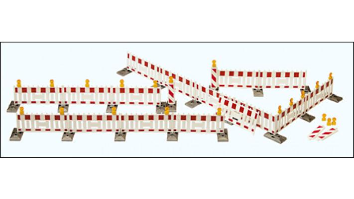 barrières pour contrôle routier