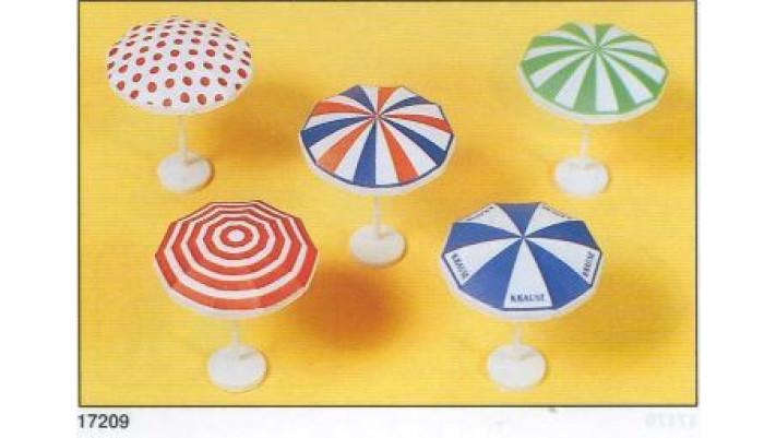 parasols peints