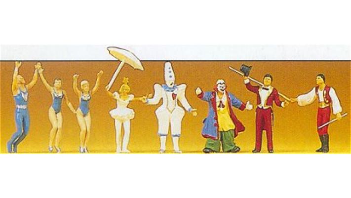 personnages de cirque