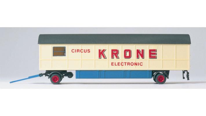 cirque krone, caravane electronique