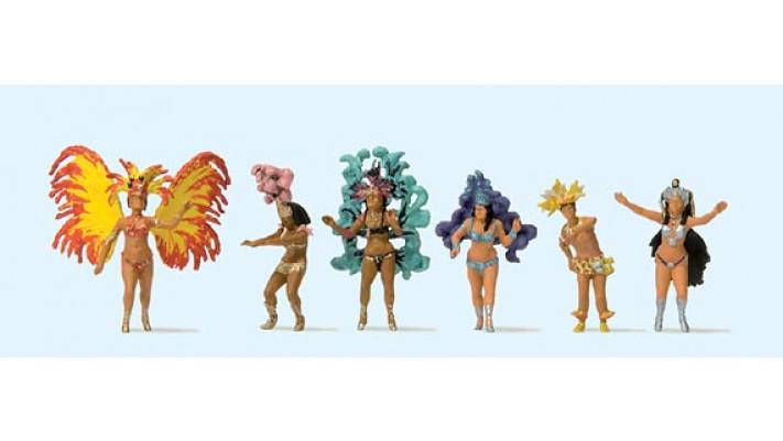 carnaval, groupe de danse samba