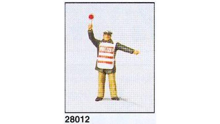 policier avec veste securite