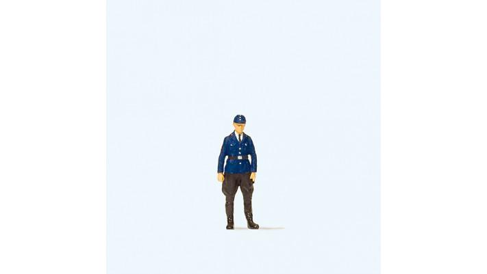 policier des chemins de fer allemand
