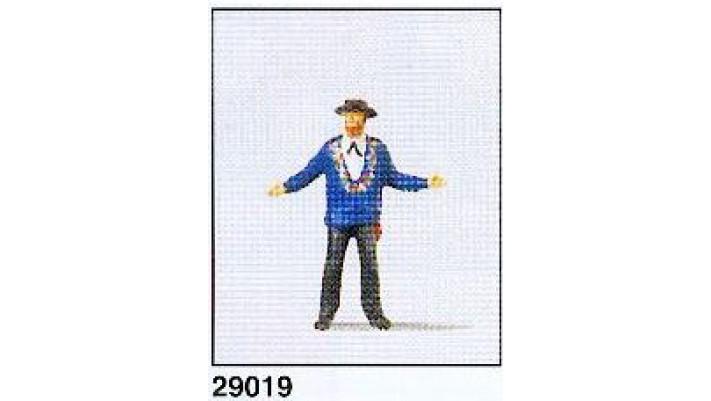 homme portant unif. suisse(canton uri)