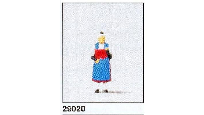 femme portant unif. suisse(canton uri)