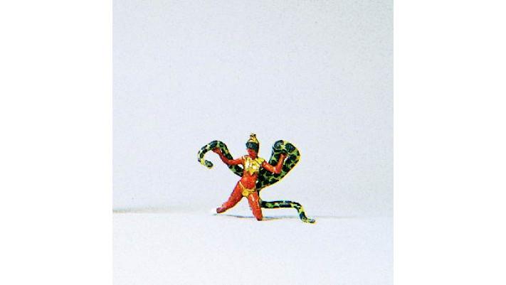 danseuse avec serpent