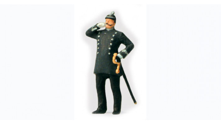 policier de berlin, année 1900