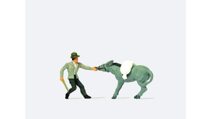 un âne et son maître