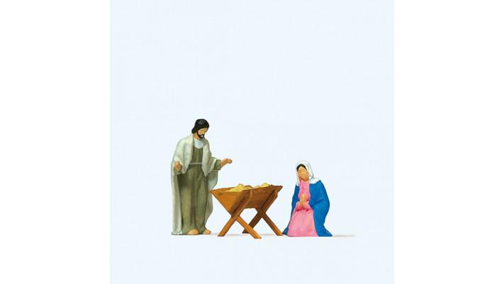 marie, joseph et l'enfant jésus