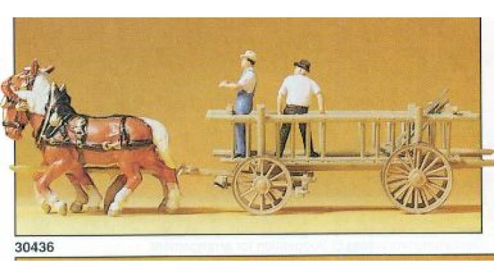 wagon à ridelles
