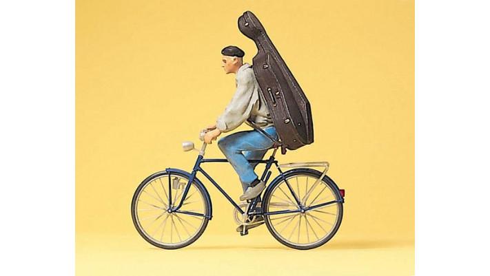 etudiant a bicyclette