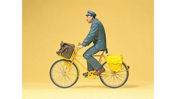 facteur francais a bicyclette