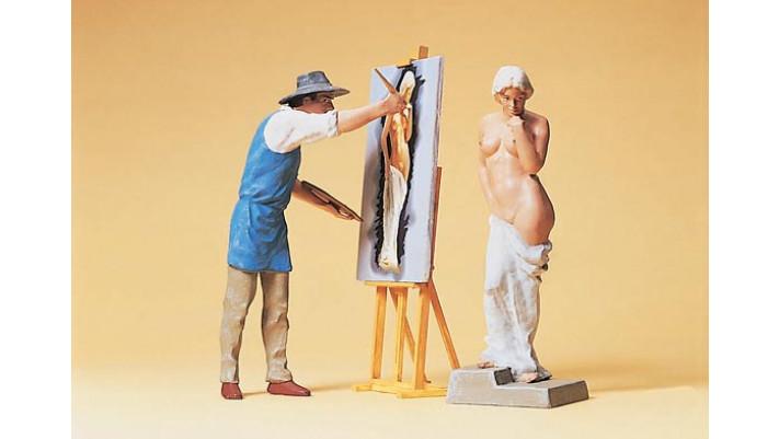 peintres modèle