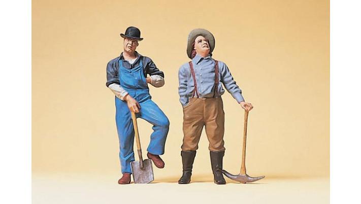 ouvriers de la voie 1900